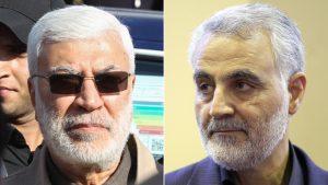 Abu Mahdi al-Muhandis and Qasem Soleiman