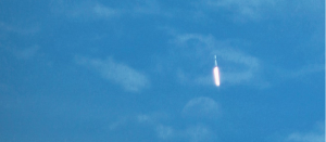 SpaceX Falcon 9 rocket heads to orbit